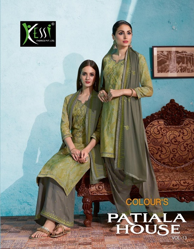 Kessi Colour by patiyala house vol 13 salwar suits wholesalers