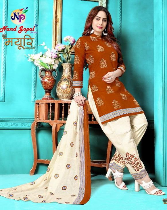 Mayuri Cotton Print Salwar Suits Wholesalers