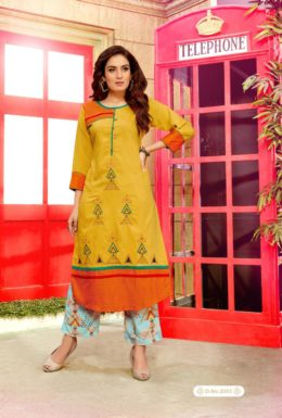 Just Chill Vol 2 Tops with Bottom Kurtis Wholesalers
