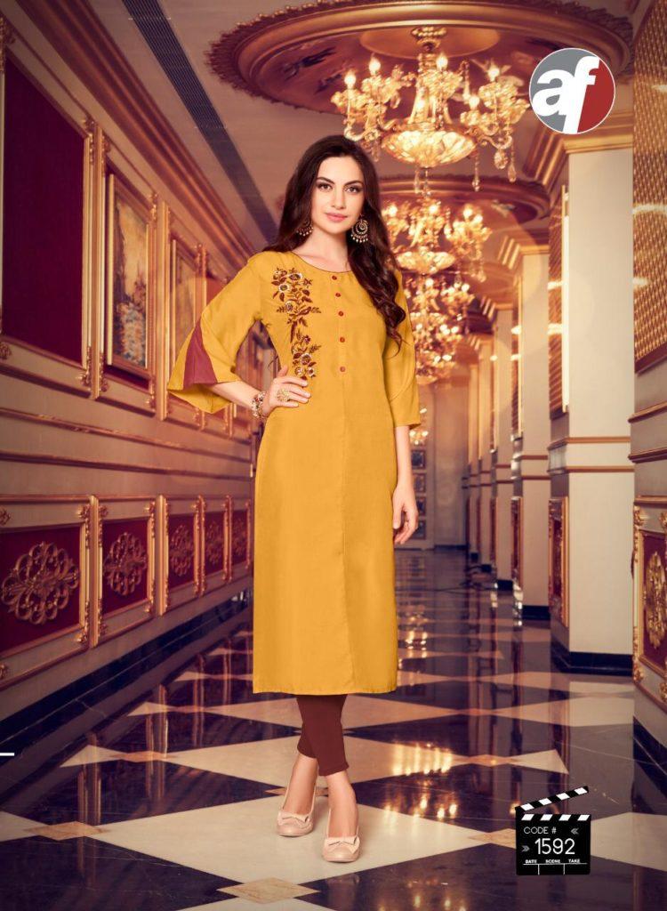Af Fashion Plus Ethenic Kurtis Wholesalers