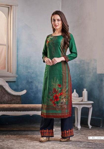 Kajree Chambor vol 8 Kurtis with palazo Wholesalers