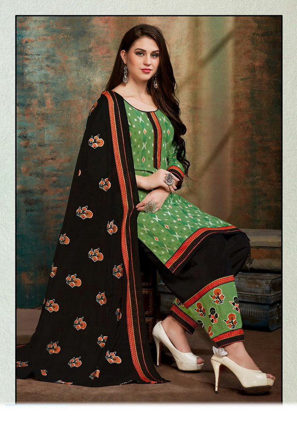 IPL Baby Doll Cotton Print Salwar Suits Wholesalers