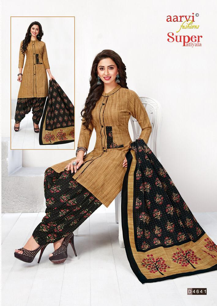 Aarvi Readymade Super Patiyala salwar suits manufacturers