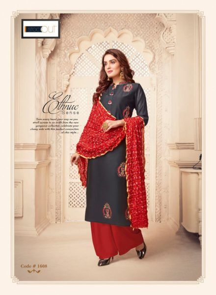 Af Dulhan Kurtis with Duppata Wholesalers