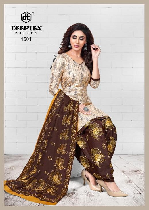 Deeptex Pichkary vol 15 Cotton Dress Materials Wholesalers