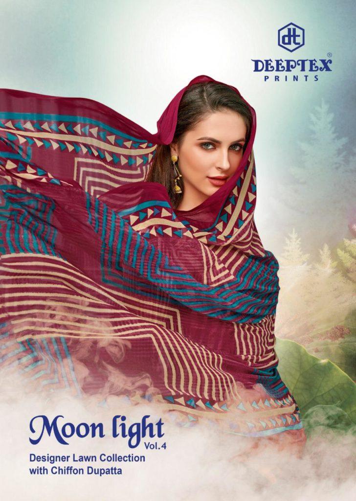 Deeptex Moonlight vol 4 Dress Materials wholesalers