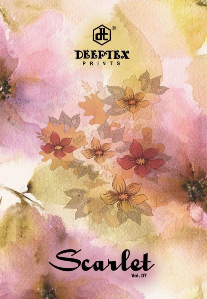 Deeptex Scarlet vol 7 Cotton Dress Materials wholesalers