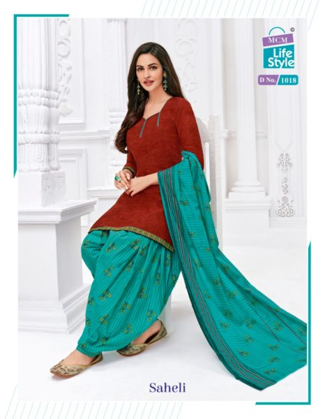 MCM Saheli Patiyala Salwar Suits wholesalers