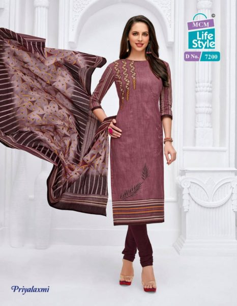 MCM priyalaxmi vol 16 cotton salwar suit wholesalers