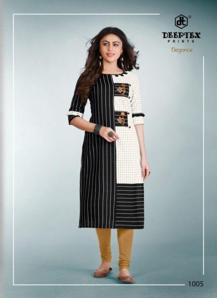 Deeptex Elegance Handloom cotton Kurtis Wholesalers