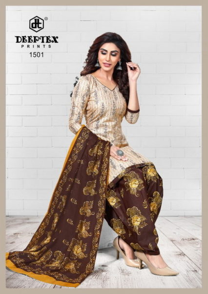 Deeptex Pichkary vol 15 Readymade Salwar suits wholesaler
