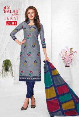 Balaji Ikkat vol 2 Cotton Print Dress Materials
