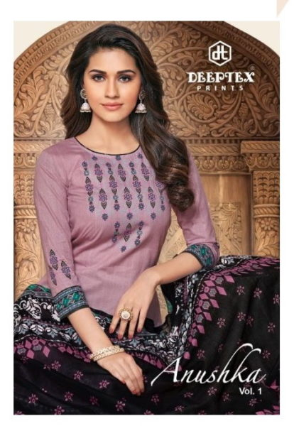 Deeptex Anushka vol 1 Cotton Dress Materials wholesalers
