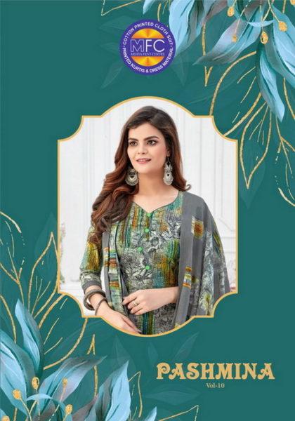 MFC Pashmina vol 10 Cotton Print Salwar Suits