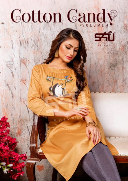 S4U Cotton Candy vol 4 Long Kurtis Wholesalers