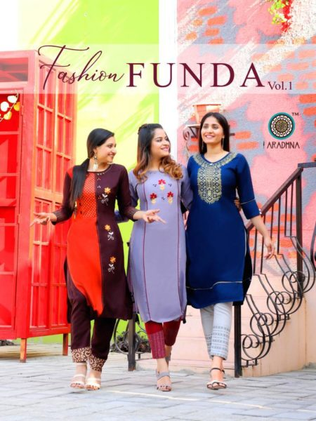 Aradhna Fashion Funda vol 1 Kurtis with Pants