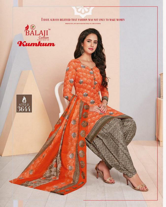 Balaji Kumkum Vol 22 Salwar Suits wholesale supplier