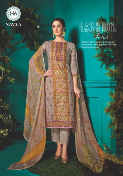 Alok Navya Karachi print Dress Materials