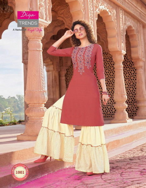Diya Bandhej vol 1 Kurtis with Bottom wholesalers