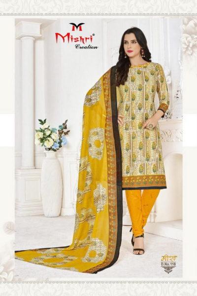 Mishri Meera vol 1 Cotton dress Material catalog wholesaler