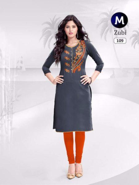 Zubi Rayon Cotton Kurtis Manufacturer