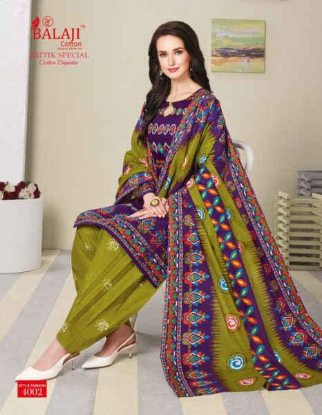 Balaji Batik Spl vol 4 Batik Dress Materials