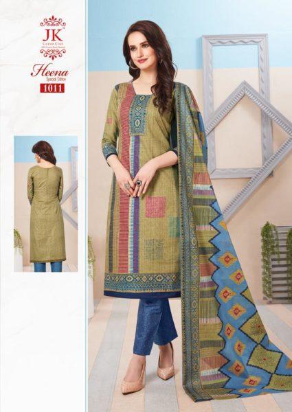 JK Heena Spl Cotton Print Salwar Kameez
