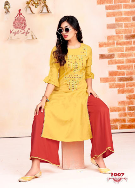 Kajal Fashion Beats vol 1 Kurtis with Bottom Wholesalers