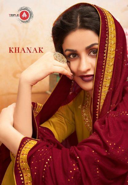 Khanak by Kessi jam silk salwar kameez wholesalers