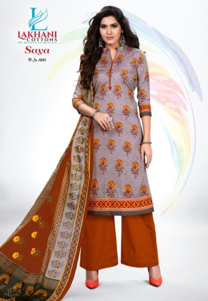 Lakhani Saya Wholesale Printed Dress Materials