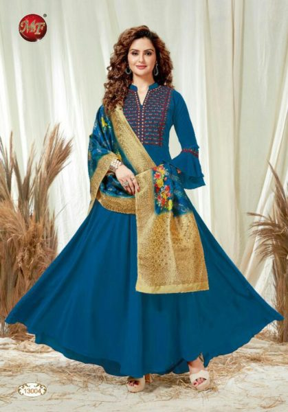 MF Dupatta Gown with Fancy Dupatta wholesalers