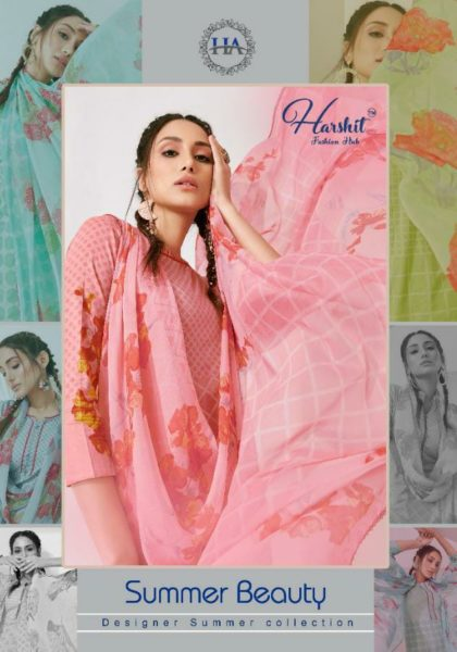 Summer Beauty Designer Cotton Suits Wholesalers