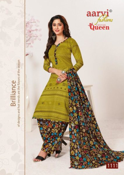 Aarvi Cotton Queen Salwar Kameez Wholesalers