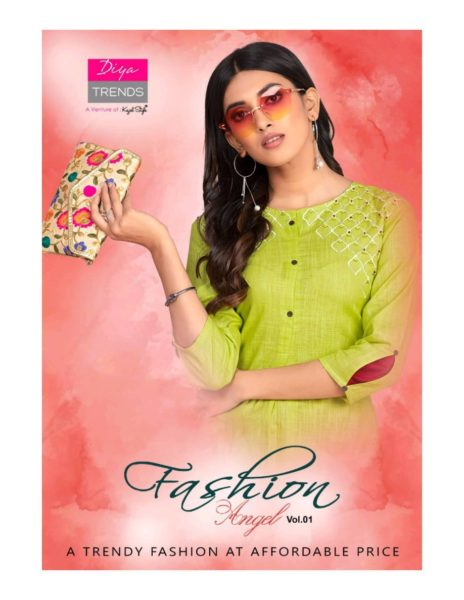 Diya Fashion Angel vol 1 Tops with Bottom