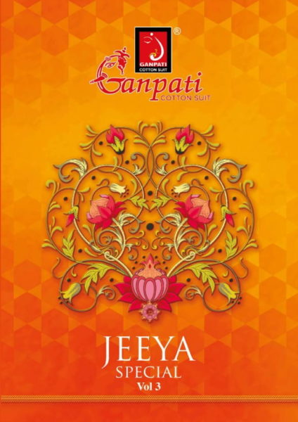 Ganpati Jeeya spl vol 3 Dress Materials wholesale