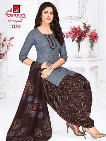 Ganpati Rangoli vol 12 Salwar Suits Wholesalers