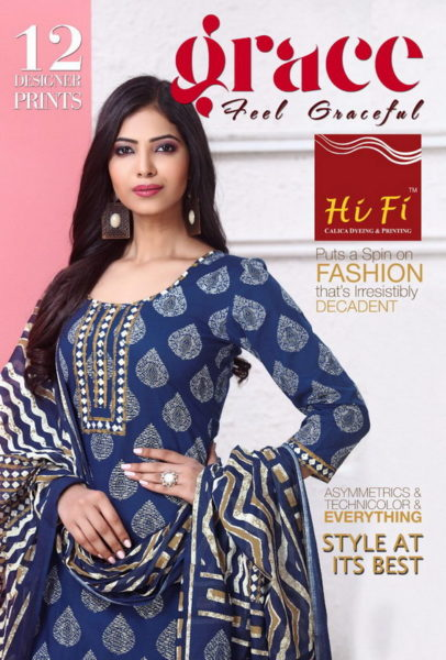 HiFi Grace Cotton Print Salwar Kameez Wholesalers