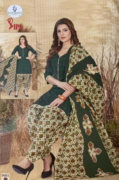 IPL vol 9 Cotton Print Dress Materials Wholesale