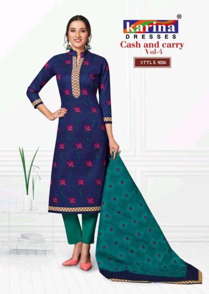 Karina Cash N Cary Printed Salwar Kameez