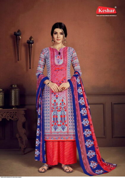 Keshar Sohni mahiwal vol 5 cotton dress materials