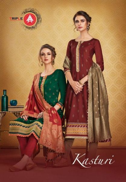 Kessi Kasturi Designer Dress Materials Wholesale