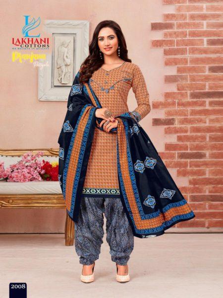 Lakhani Pranjana Patiyala Readymade Patiyala suits