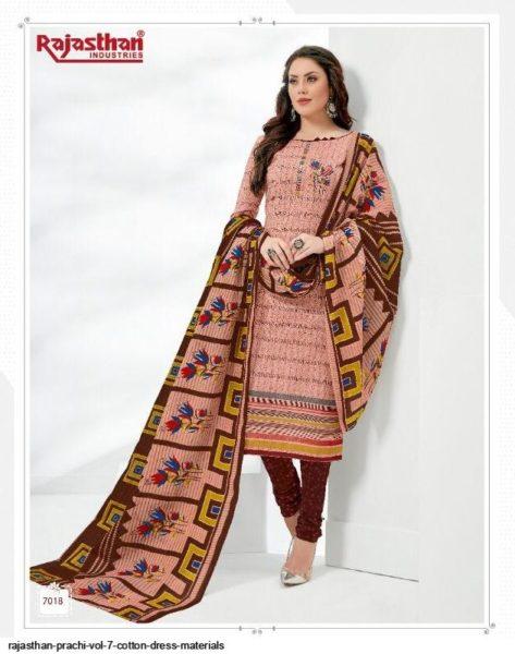 Prachi vol 7 Cotton Dress Materials Wholesalers