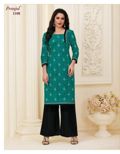 Pranjul Pari Low range Cotton Kurtis wholesaler
