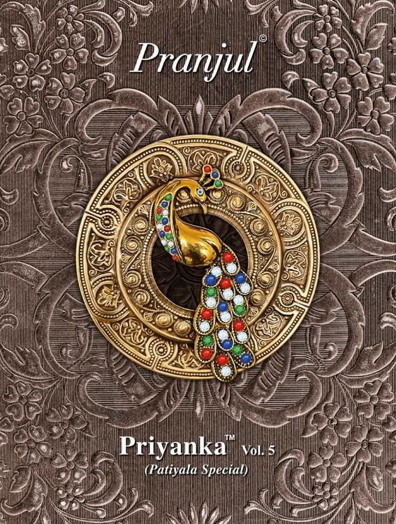 Pranjul Priyanka vol 5 Dress Materials wholesale