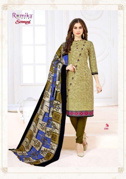 Romika Somya vol 17 Cotton Print Salwar Kameez