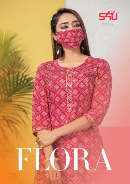 S4U Flora Ethenic Kurtis wholesalers