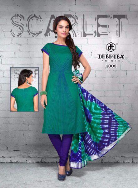 Deeptex Scarlet vol 4 Dress Materials Wholesalers