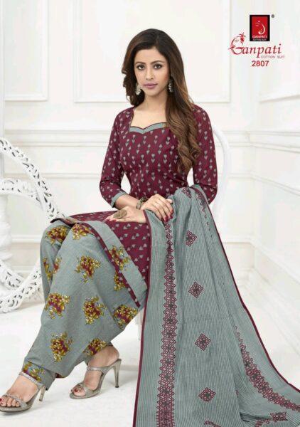 Ganpati Sandhya Payal vol 28 Readymade patiyala punjabi cotton suits