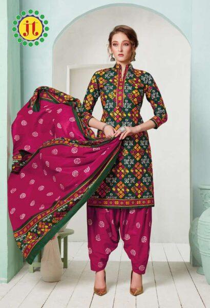JT Batik Spl vol 19 Cotton Dress Materials Wholesale